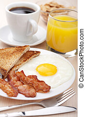 tradycyjne śniadanie