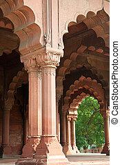 tradycyjny, indianin, architektura