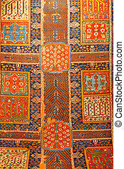 tradycyjny, turecki, dywan