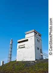 Trafalgar's lighthouse in Cadiz