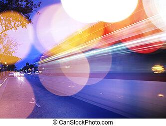 Traffic background