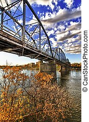 Traffic Bridge in Saskatoon