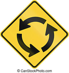 Traffic Circle Ahead