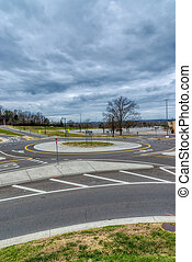 Traffic Circle or Roundabout
