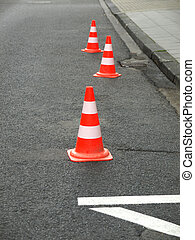 Traffic cone - Range of traffic cones for road works