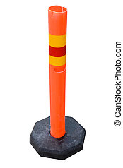 Traffic Cone - Traffic cone isolated on a white background