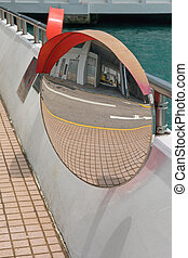 Convex Traffic Mirror Safety Driveway Visibility