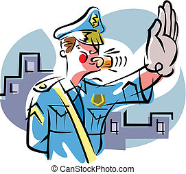 traffic cop illustrations and clip art 1 865 traffic cop royalty rh canstockphoto com  traffic cop clipart free