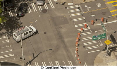 Traffic Crossing Seattle
