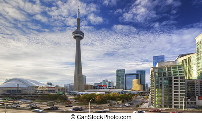 Traffic flows in Toronto - The Traffic flows in the city...