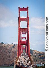 Traffic Golden Gate Bridge
