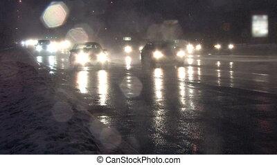 Traffic in Blizzard 2