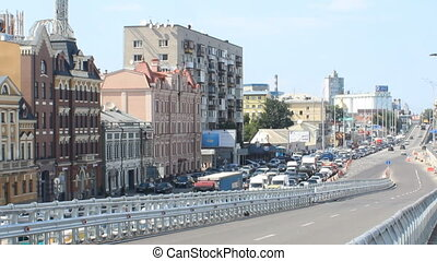 traffic in Kyiv