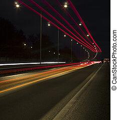 Traffic in movement