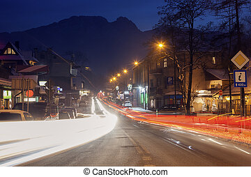 Traffic in Zakopane