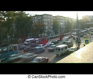 Traffic jam - Urban transport