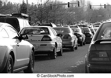 Traffic Jam - Traffic jam after work.