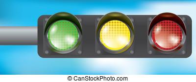 traffic lamp