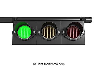 Traffic light. Go