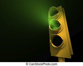 Traffic Light - Green