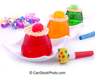 Traffic Light Jellies - Traffic light jellies with wafers...