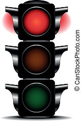 traffic light red