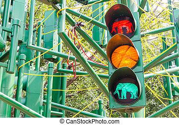 Traffic light signal