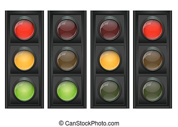 Traffic Light Vector Illustration