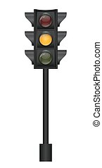 Traffic Light Vector Illustration EPS10
