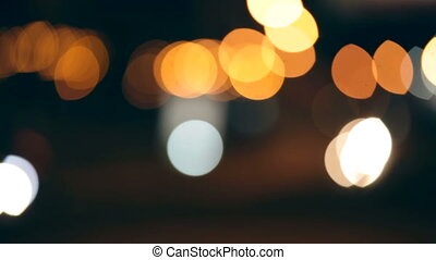 Traffic Lights Defocused