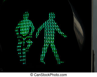 traffic lights for pedestrians and cyclists