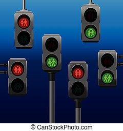 Traffic Lights Gay Lesbian Straight
