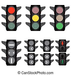 traffic lights semaphores