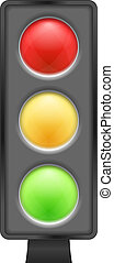 Traffic Lights, vector eps10 illustration