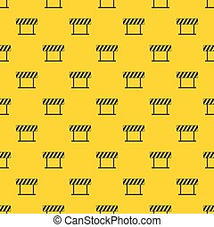 Traffic prohibition sign pattern vector