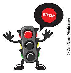 traffic sign - illustration of traffic sign