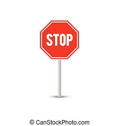 Traffic sign graphic template