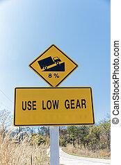 use low gear