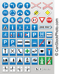 Traffic signs: Information - Traffic sign collection:...