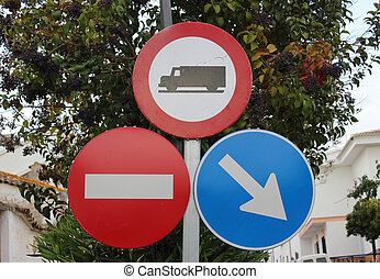 Traffic signs photo - Creative design of traffic signs photo