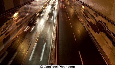 Traffic, Time Lapse