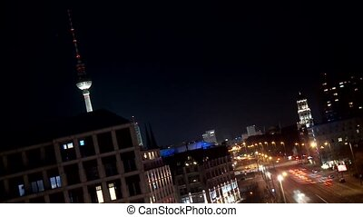 Traffic - Timelapse - Berlin