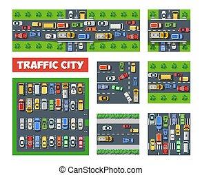 Traffic Transportation set