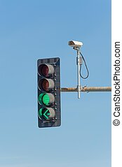Traffic video camera