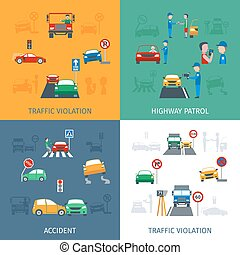 Traffic Violation Set