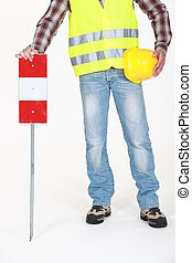 Traffic worker