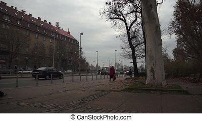 Traffic - Zagreb 004 - Street traffic in Zagreb, Croatia.