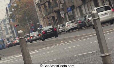 Traffic - Zagreb 007 - Street traffic in Zagreb, Croatia.
