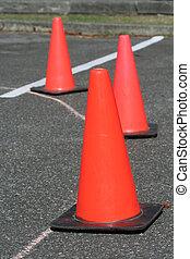trafic, cône sûreté