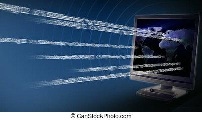 trafic, internet